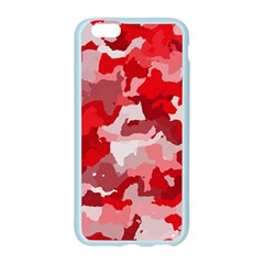 Camouflage Red Apple Seamless iPhone 6 Case (Color)