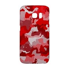 Camouflage Red Galaxy S6 Edge