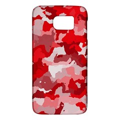 Camouflage Red Galaxy S6
