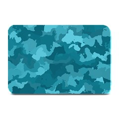 Camouflage Teal Plate Mats