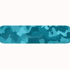 Camouflage Teal Large Bar Mats