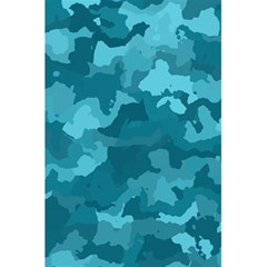 Camouflage Teal 5 5  X 8 5  Notebooks