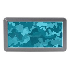 Camouflage Teal Memory Card Reader (Mini)