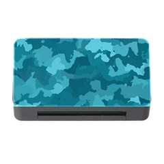 Camouflage Teal Memory Card Reader with CF