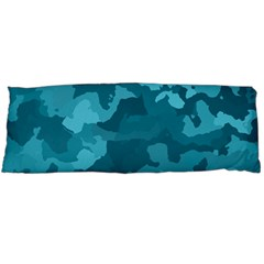 Camouflage Teal Body Pillow Cases (Dakimakura)