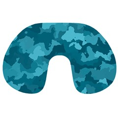 Camouflage Teal Travel Neck Pillows