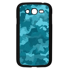 Camouflage Teal Samsung Galaxy Grand Duos I9082 Case (black)