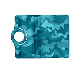 Camouflage Teal Kindle Fire Hd (2013) Flip 360 Case