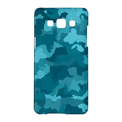Camouflage Teal Samsung Galaxy A5 Hardshell Case