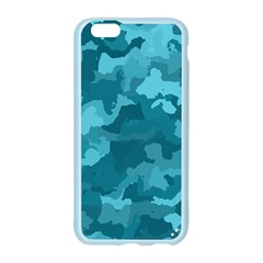 Camouflage Teal Apple Seamless iPhone 6 Case (Color)