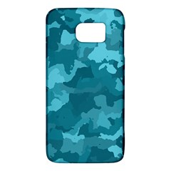 Camouflage Teal Galaxy S6