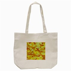 Camouflage Yellow Tote Bag (Cream)