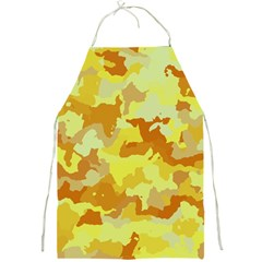 Camouflage Yellow Full Print Aprons