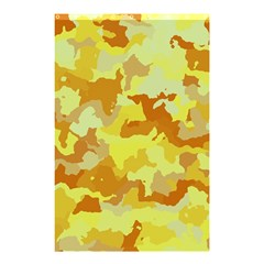 Camouflage Yellow Shower Curtain 48  x 72  (Small)