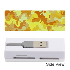 Camouflage Yellow Memory Card Reader (stick)