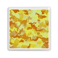 Camouflage Yellow Memory Card Reader (Square)