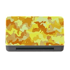 Camouflage Yellow Memory Card Reader With Cf