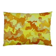 Camouflage Yellow Pillow Cases (Two Sides)
