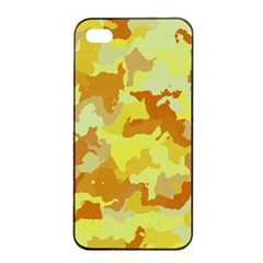 Camouflage Yellow Apple Iphone 4/4s Seamless Case (black)