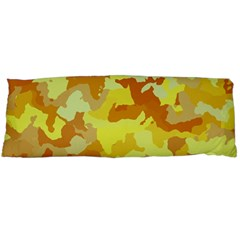Camouflage Yellow Body Pillow Cases (dakimakura)