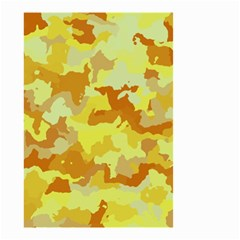 Camouflage Yellow Small Garden Flag (Two Sides)