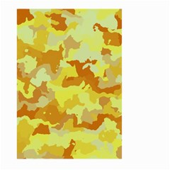 Camouflage Yellow Large Garden Flag (Two Sides)