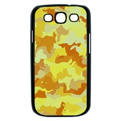 Camouflage Yellow Samsung Galaxy S III Case (Black)