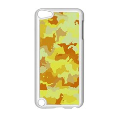 Camouflage Yellow Apple Ipod Touch 5 Case (white)