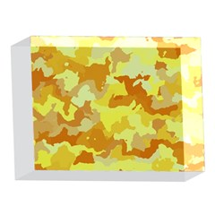Camouflage Yellow 5 x 7  Acrylic Photo Blocks