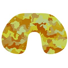 Camouflage Yellow Travel Neck Pillows