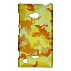 Camouflage Yellow Nokia Lumia 720