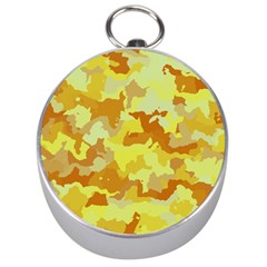 Camouflage Yellow Silver Compasses