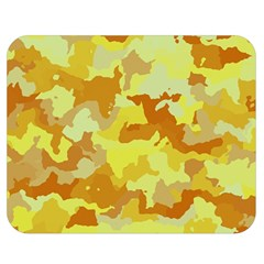 Camouflage Yellow Double Sided Flano Blanket (Medium)