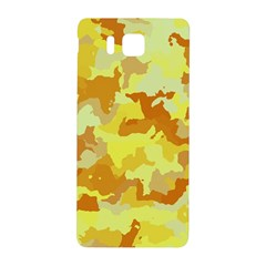 Camouflage Yellow Samsung Galaxy Alpha Hardshell Back Case