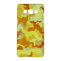 Camouflage Yellow Samsung Galaxy A5 Hardshell Case