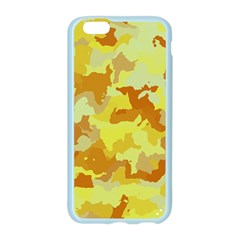 Camouflage Yellow Apple Seamless iPhone 6 Case (Color)