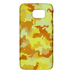 Camouflage Yellow Galaxy S6