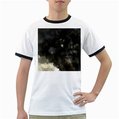 Space Like No.8 Ringer T-Shirts