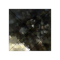 Space Like No.8 Acrylic Tangram Puzzle (4  x 4 )