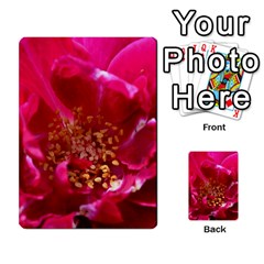 Red Rose Multi-purpose Cards (Rectangle)