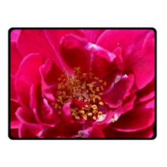 Red Rose Fleece Blanket (Small)