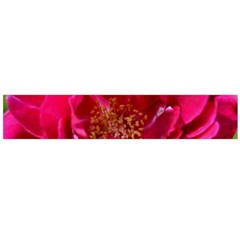 Red Rose Flano Scarf (large)