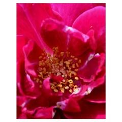Red Rose Drawstring Bag (Large)