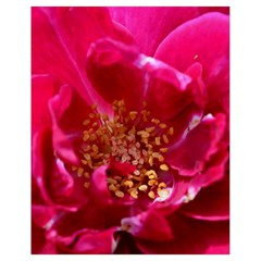 Red Rose Drawstring Bag (Small)