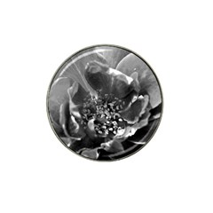Black And White Rose Hat Clip Ball Marker (10 Pack)
