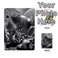 Black And White Rose Playing Cards 54 Designs