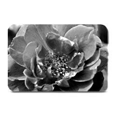 Black and White Rose Plate Mats