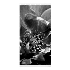 Black and White Rose Shower Curtain 36  x 72  (Stall)