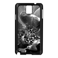 Black And White Rose Samsung Galaxy Note 3 N9005 Case (black)