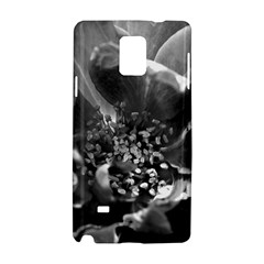 Black And White Rose Samsung Galaxy Note 4 Hardshell Case